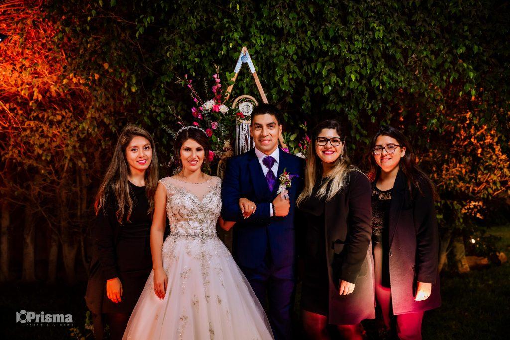 Susana Morales y su equipo de trabajo - Boda de Lucero y Alex 2019