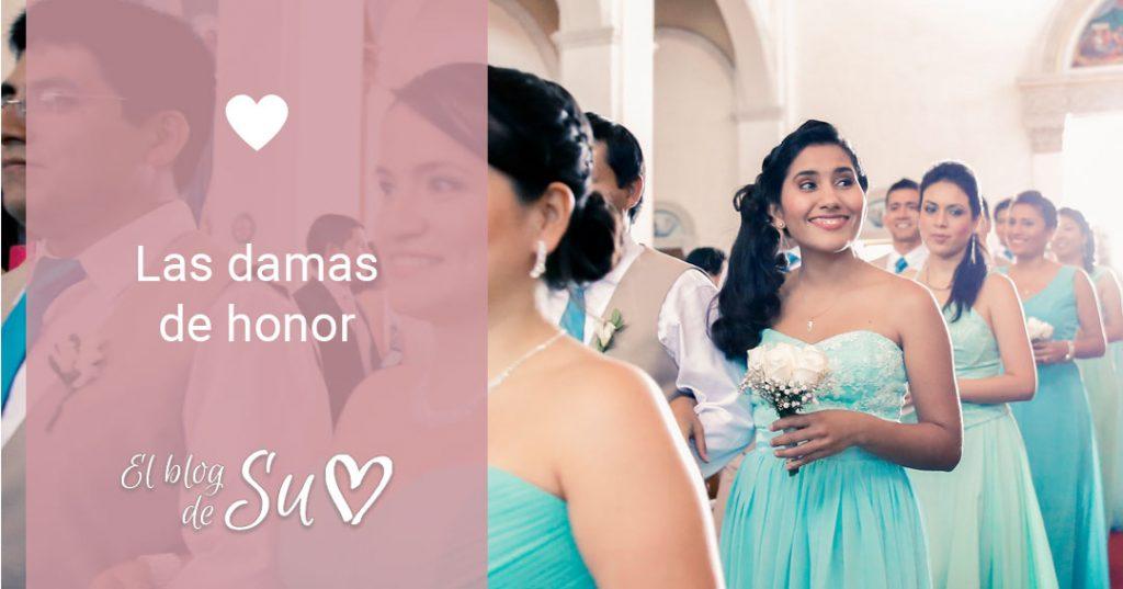 Las damas de honor - El blog de Su - Susana Morales Wedding & Event Planner