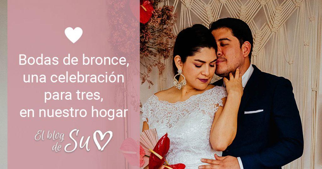 Bodas de bronce, una celebración para tres, en nuestro hogar – El blog de Su – Susana Morales Wedding & Event Planner