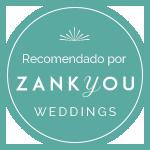 Zankyou Weddings recomienda Susana Morales Wedding Planner